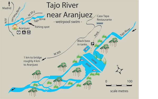 Map Of Spain Ebro River.Free Fishing Map To Find Places To Fish In River Tajo Aranjuez
