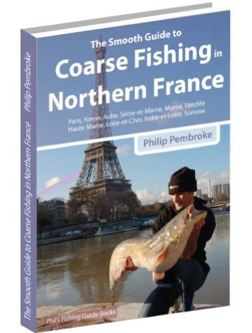 fishing book, fishing holiday, river Somme, river Seine, river Yonne, river Saone, Cassien Lake, carp, barbel, catfish, where to fish, licence, tackle, tactics, accommodation, France