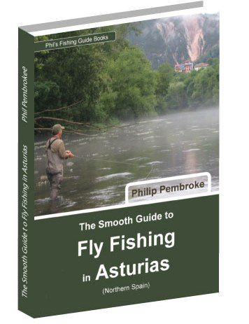 fly fishing book, Asturias, salmon, trout, river Sella, Panes, where to fish, licence, tackle, tactics, accommodation, Spain