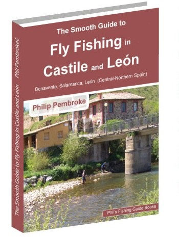 fly fishing book, Leon, Salamanca, Zamora, trout, huchen salmon, where to fish, licence, tackle, tactics, accommodation, Spain